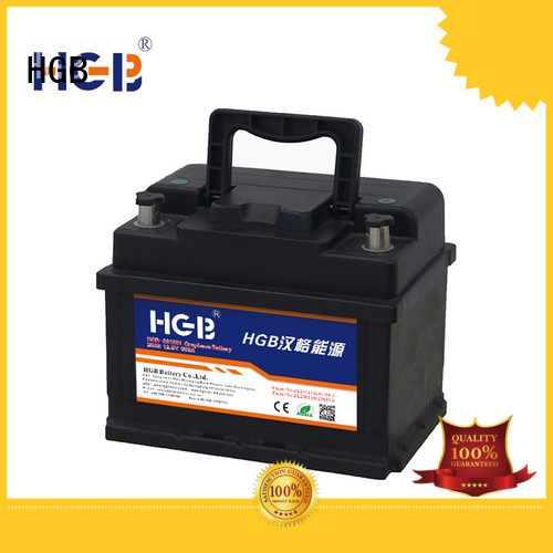 HGB convenient graphene lithium ion battery supplier for cars