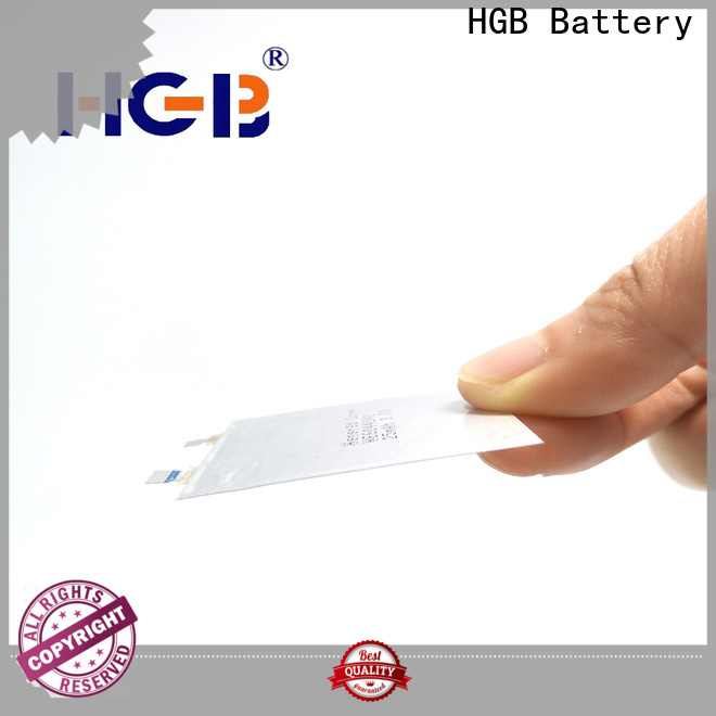 HGB Eco-friendly super thin battery directly sale for micro speakers