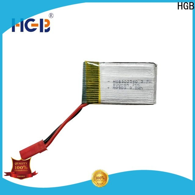 HGB rc helicopter battery factory price for RC quadcopters