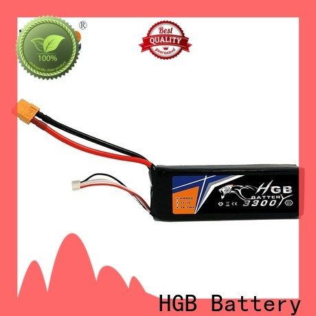 HGB professional polymer battery factory for RC helicopter