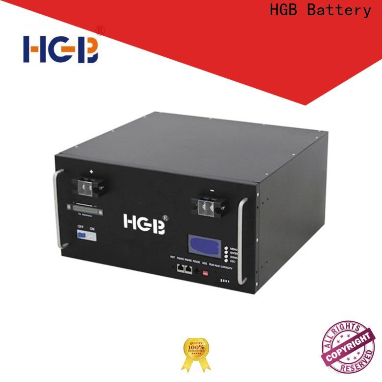 HGB lithium ion phosphate battery customized for Cloud/Solar Power Storage System