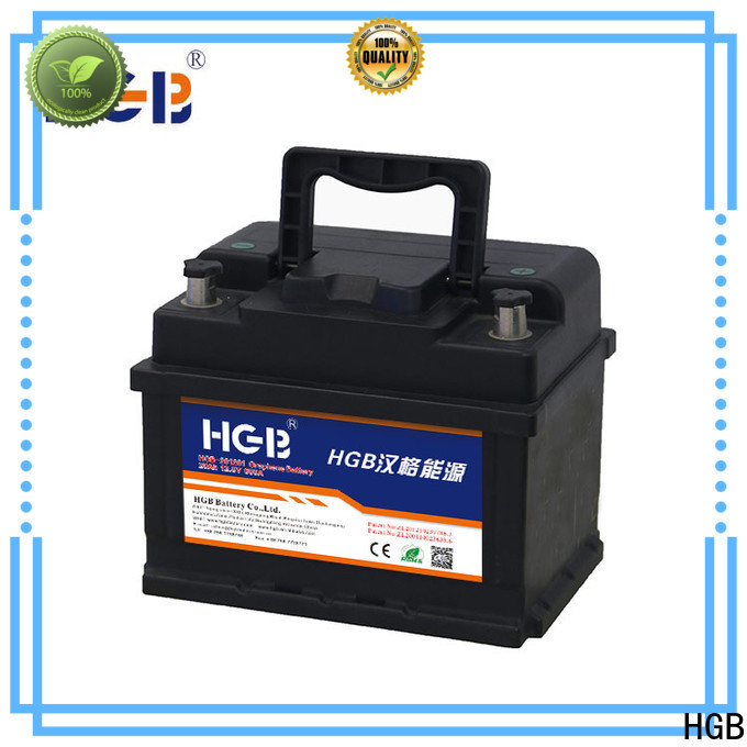 HGB lithium car battery with good price for tractors