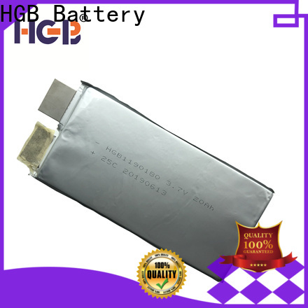 HGB low temperature lithium ion battery series for public security
