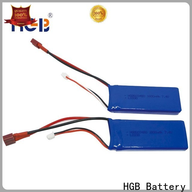 HGB lithium rc battery manufacturer for RC quadcopters