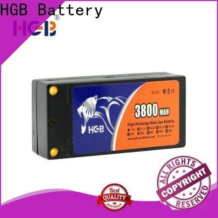 HGB rc rechargeable batteries factory for RC quadcopters