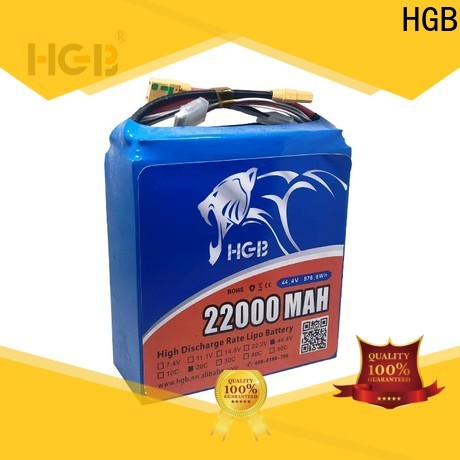 HGB rechargeable racing drone battery wholesale for UAV