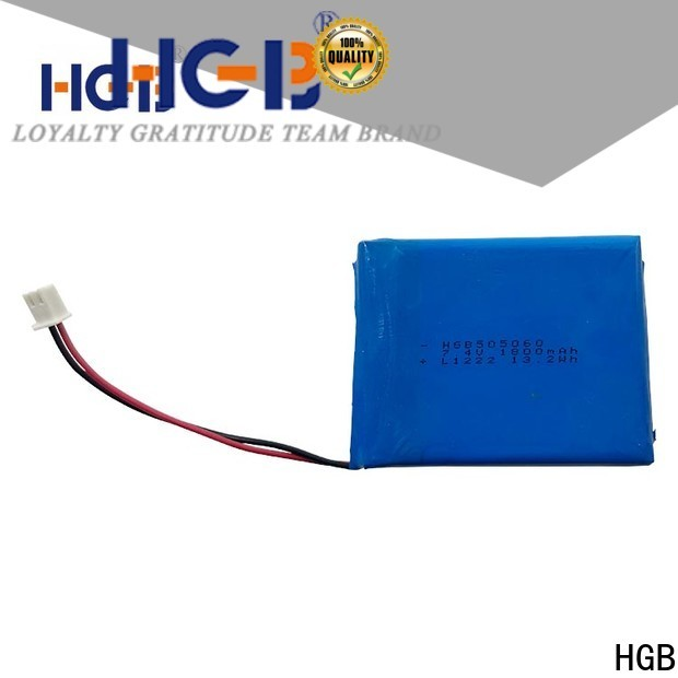 HGB flat lithium ion battery pack directly sale for mobile devices
