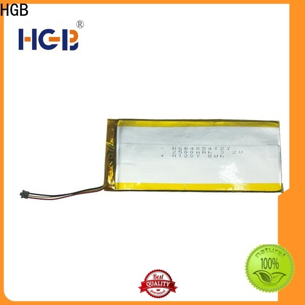 HGB popular flat lithium ion battery pack customized for notebook