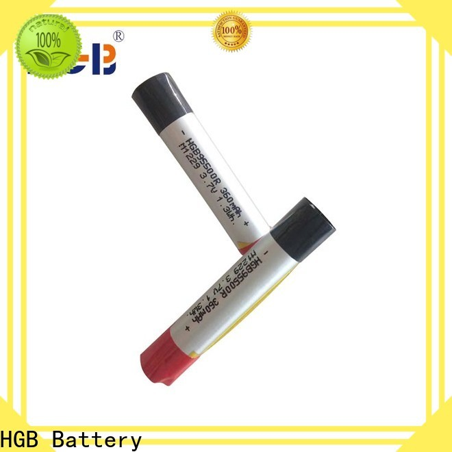HGB ion polymer battery factory for rechargeable devices