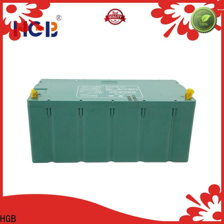 HGB best battery for electric car supplier for tram
