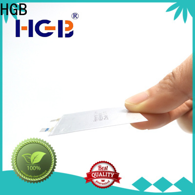 rechargeable thinnest rechargeable battery series for wearable devices