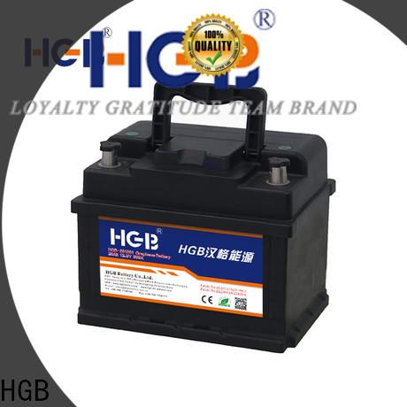 HGB graphene car batteries manufacturer for tractors
