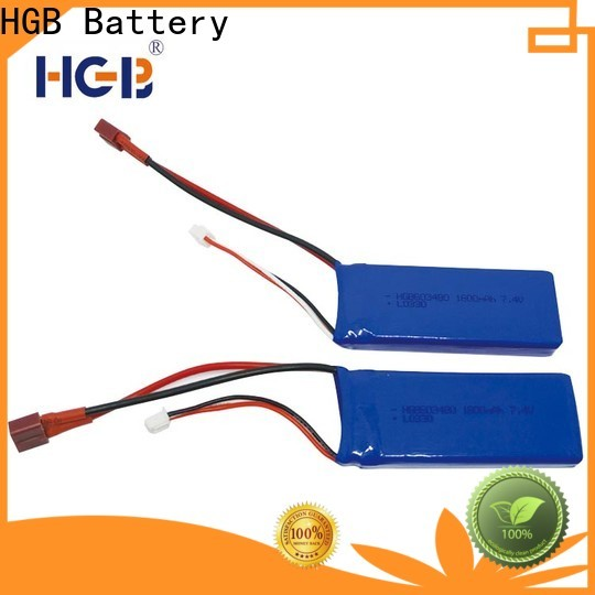 HGB rc lithium ion battery directly sale for RC planes