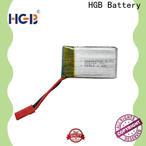 HGB high quality lithium ion battery for rc planes directly sale for RC quadcopters