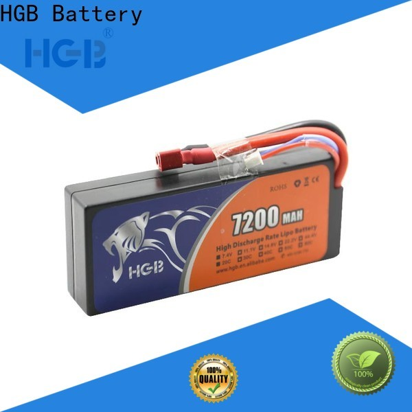 HGB reliable rc batterier directly sale for RC planes