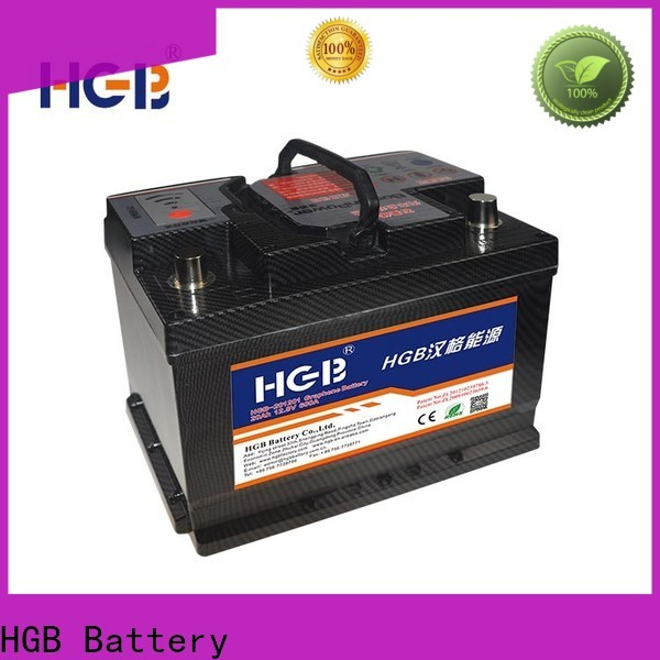 HGB compatible graphene battery pack customized for vehicle starter