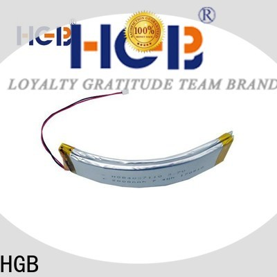 HGB button shape curved battery supplier for multi-function integrated watch