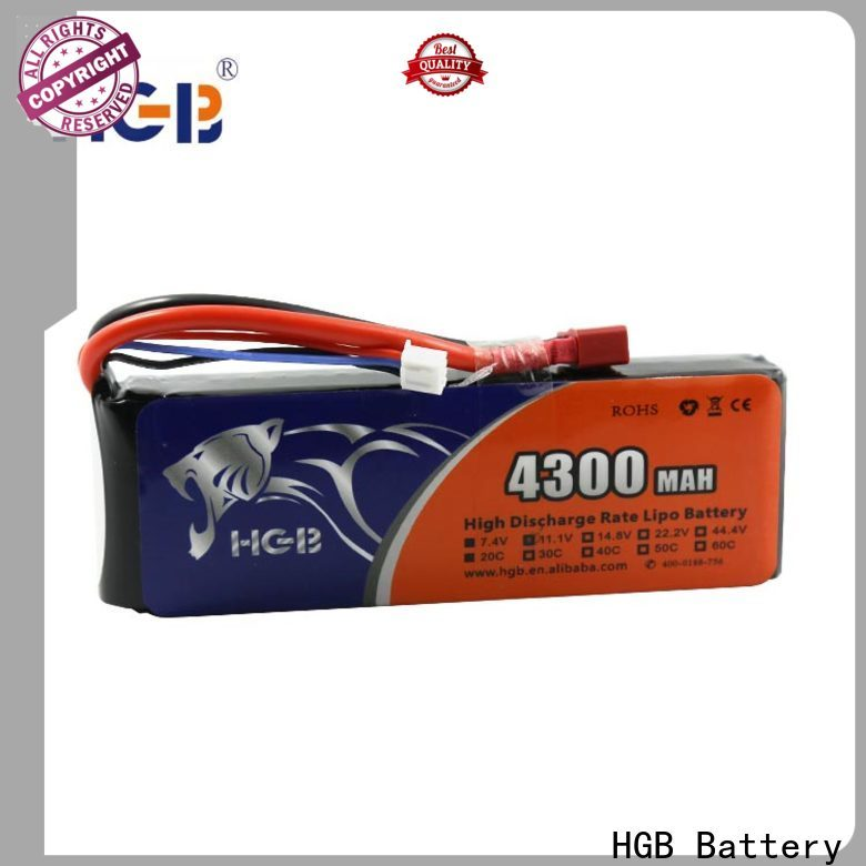 HGB rc car batterys supplier for RC quadcopters