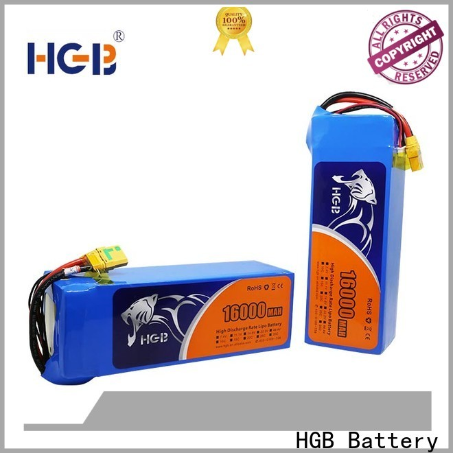 HGB rc drone battery with good price manufacturer