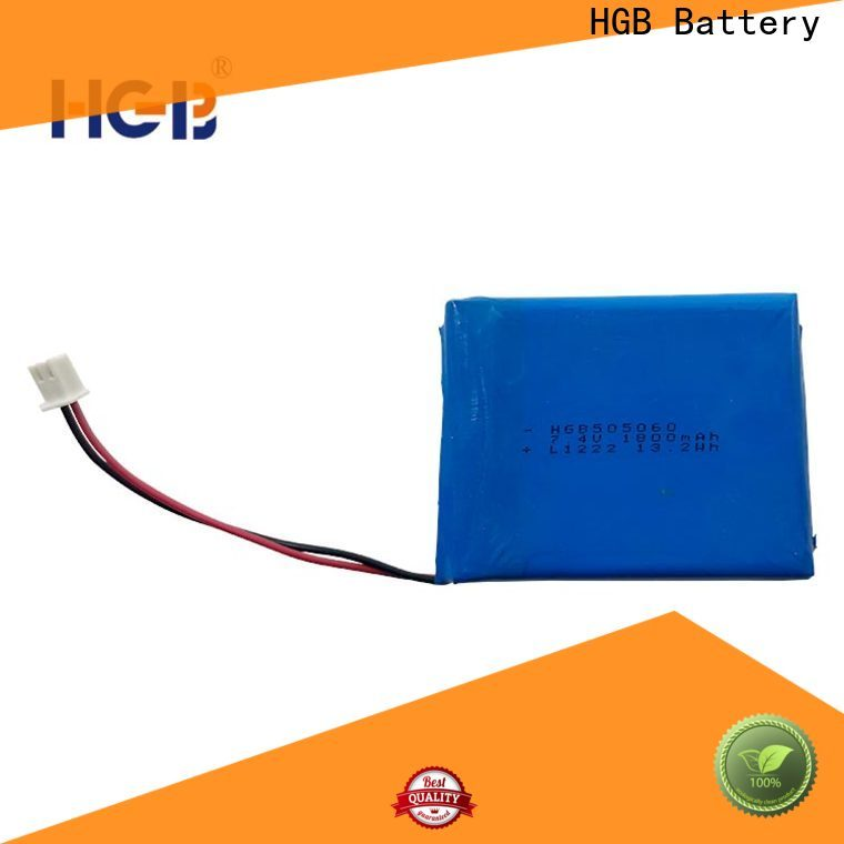HGB reliable thinnest lithium ion battery factory price for notebook