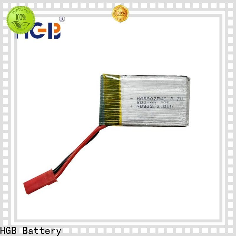 HGB rechargeable lithium polymer battery rc factory for RC planes