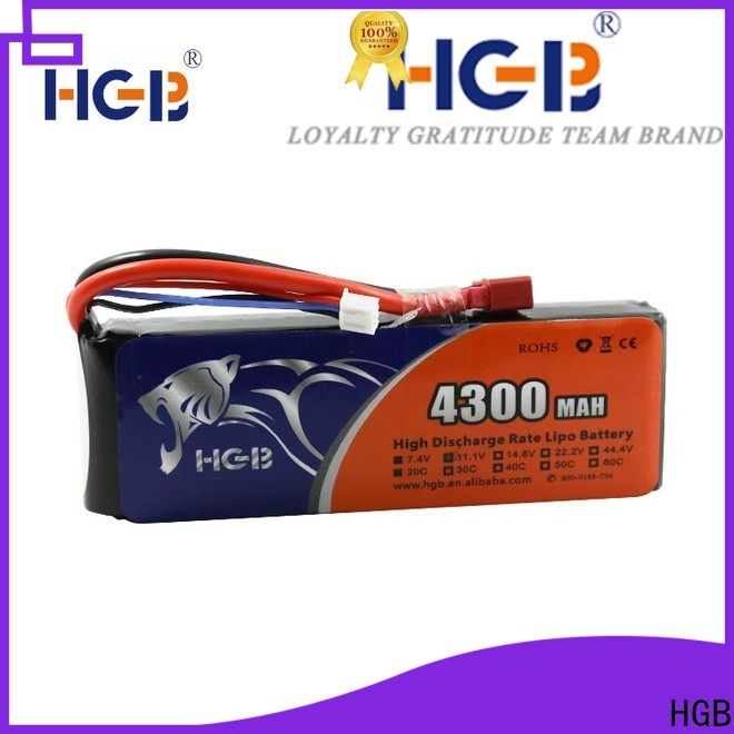 HGB rechargeable rc airplane batteries factory for RC car