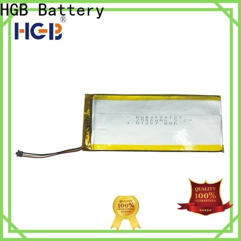 HGB light weight thinnest lithium ion battery factory price for mobile devices