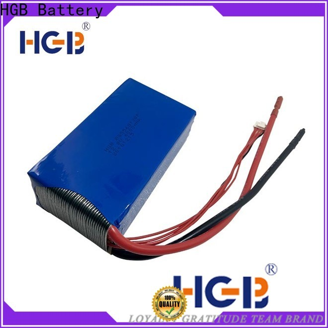 HGB light weight a123 lifepo4 20ah manufacturer for RC hobby