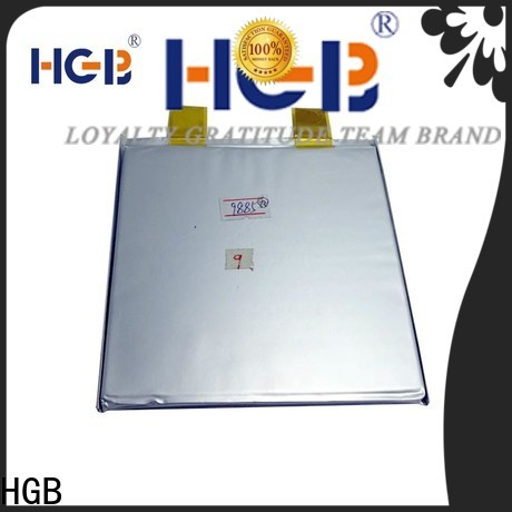 HGB rechargeable lithium ion battery composition supplier for RC hobby
