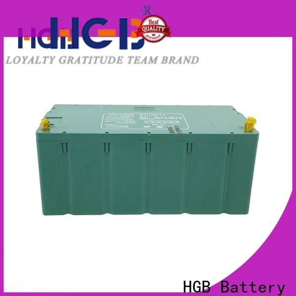 HGB rechargeable li ion car battery customized for tram