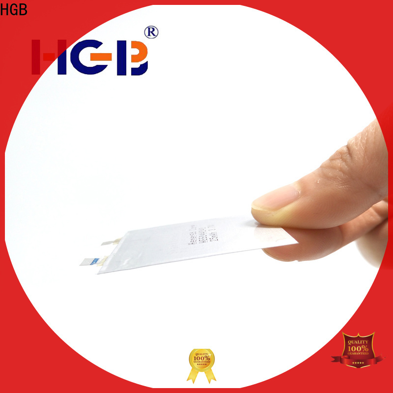 HGB hin lithium battery customized for smart cards