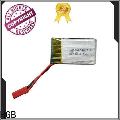 HGB rc lithium polymer batteries factory price for RC helicopter