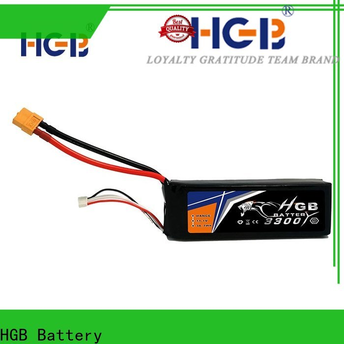 HGB popular polymer battery supplier for RC planes