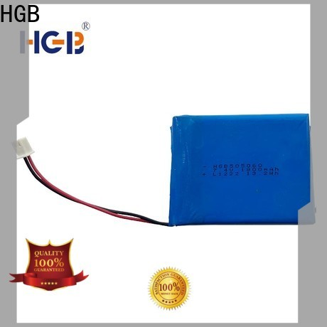HGB quality flat lithium polymer battery directly sale for notebook