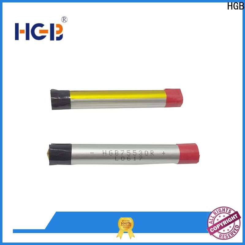 HGB high quality ion polymer battery custom design for electronic cigarette