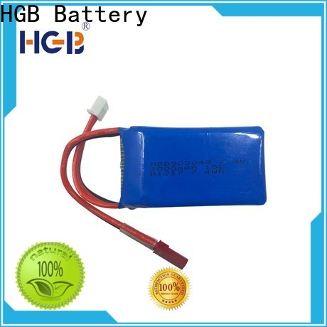 HGB rc airplane batteries factory price for RC planes