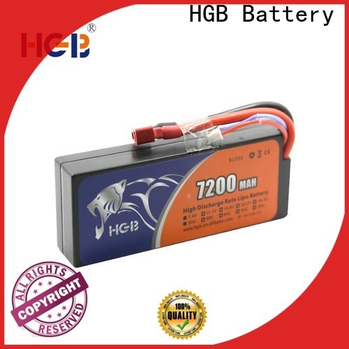 HGB li poly rc battery wholesale for RC car