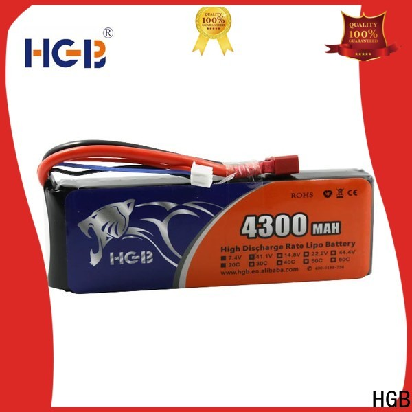 HGB rc model batteries factory for RC helicopter