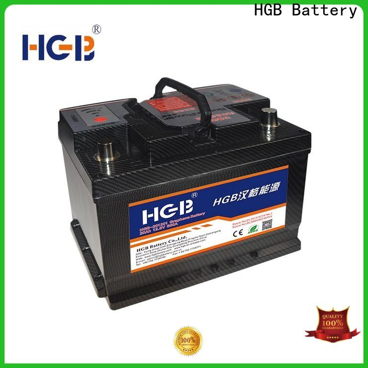 HGB graphene battery pack with good price for tractors
