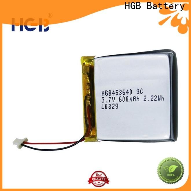 HGB high voltage rechargeable lithium polymer battery manufacturer for digital products