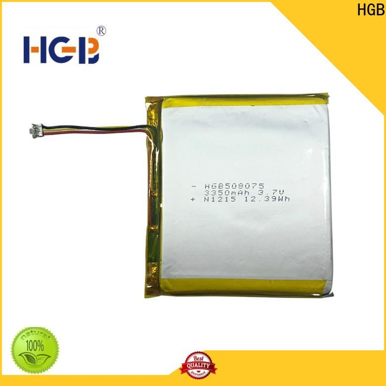 HGB flat lithium ion battery customized for mobile devices
