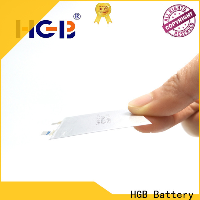 HGB high quality ultra thin battery series for wearable devices