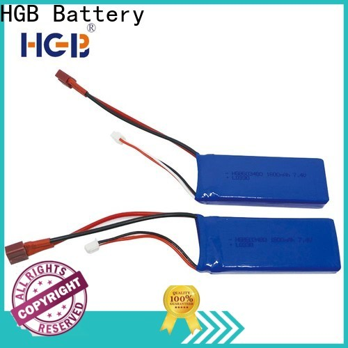 HGB popular rc car batterys factory for RC quadcopters