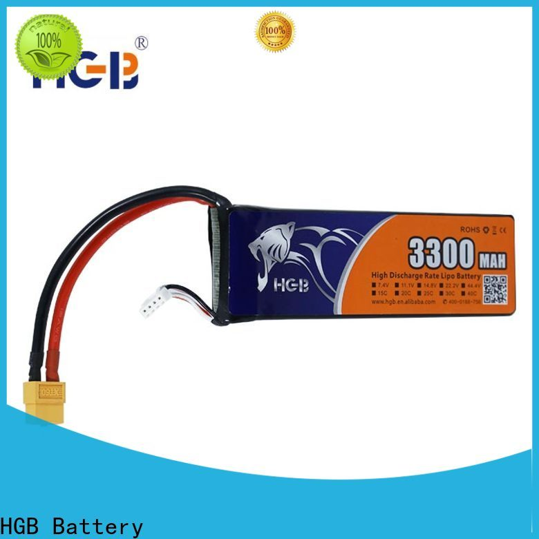 HGB professional custom rc battery packs factory for RC planes