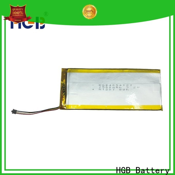 HGB popular thin lithium polymer battery manufacturer for notebook
