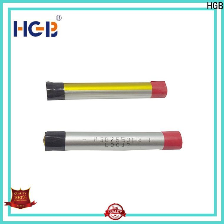 HGB lithium polymer li poly batteries directly sale for rechargeable devices