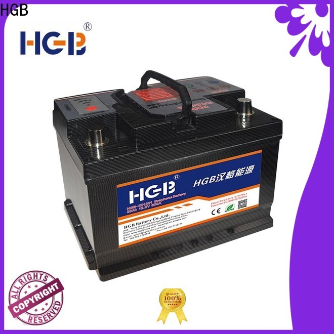 HGB graphene rc battery with good price for tractors
