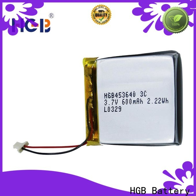 HGB good quality thin rechargeable battery directly sale for mobile devices