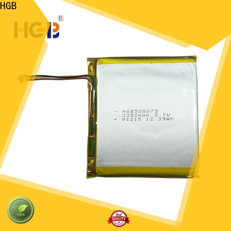 HGB good quality thinnest lithium ion battery manufacturer for computers