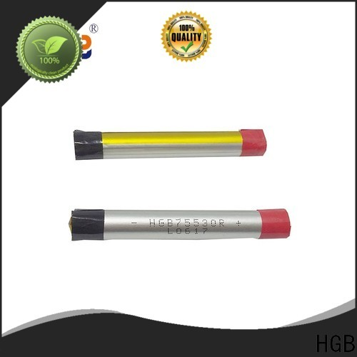 HGB lithium polymer li poly batteries factory price for rechargeable devices